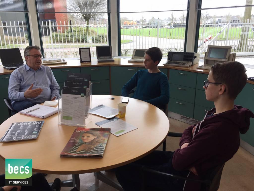 Uitleg over Becs en IT-branche Limburg