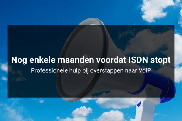 Nog enkele maanden voordat ISDN stopt